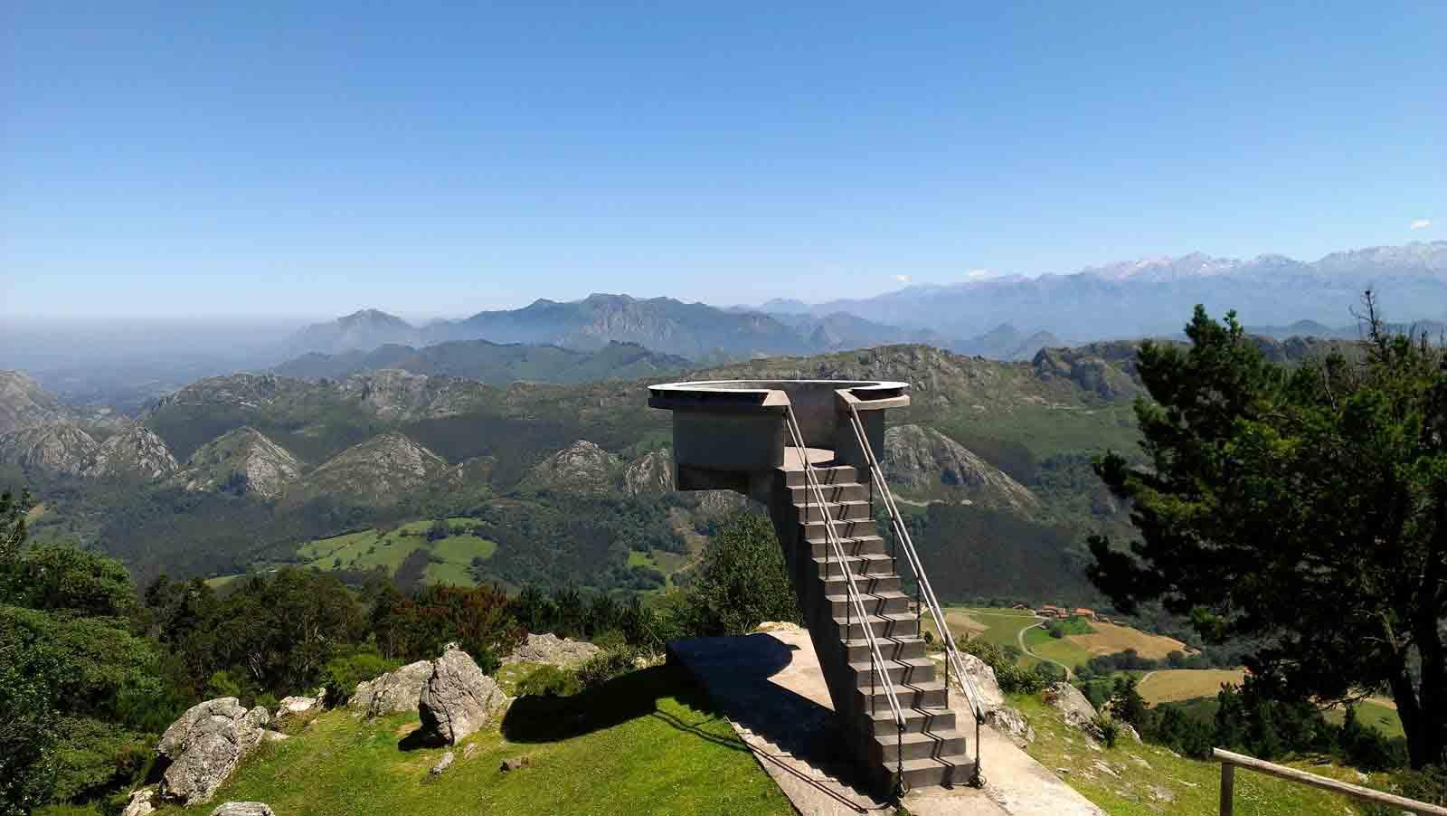 Mirador del fito, el primero en España en 1927 Fuente, Por Soleá