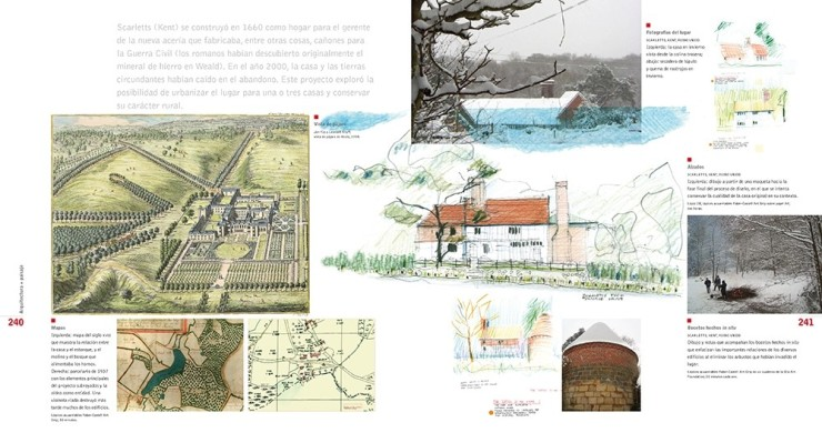 Edward Hutchison el dibujo en el proyecto del paisaje dibujos del paisaje