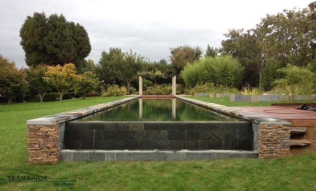 Piscina natural, piscina naturalizada, biopiscina tipo lago bionovapiscinasnaturales