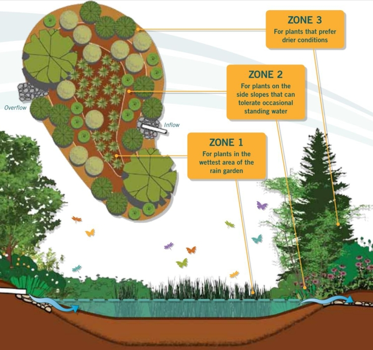 Rain Garden Handbook for western 13 (planting zones)