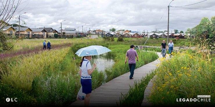 Plan de Infraestructura Verde en el Humedal Baquedano, Llanquihue